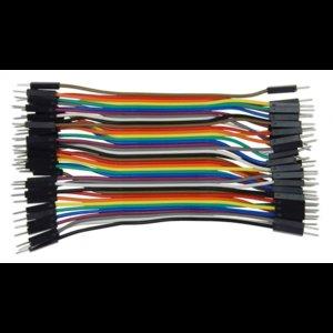 Dupont Kabel 10cm M/M