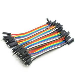 Dupont Kabel 10cm M/F
