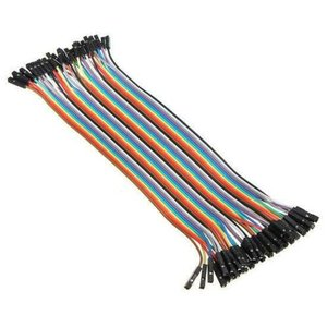 Dupont Kabel 20cm M/F