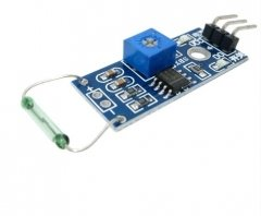 Reed sensor module magnetron module