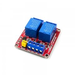 2 channel 5V relay optocoupler isolation Red board