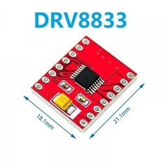 DRV8833 drive board module replaces TB6612FNG