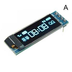 Blauw OLED display 0.91 inch 128x32