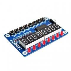 TM1638 LED display module 8-bit